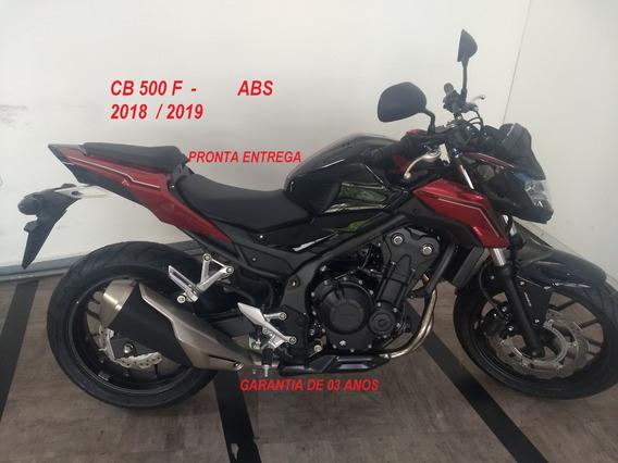Honda Cb 500 F Abs - 2019 / 2019 Okm - Pronta Entrega