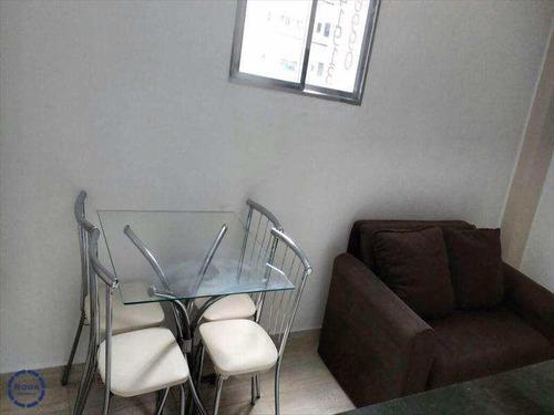 Apartamento Com 1 Dorm, Centro, São Vicente - R$ 180 Mil, Cod: 7780 - V7780