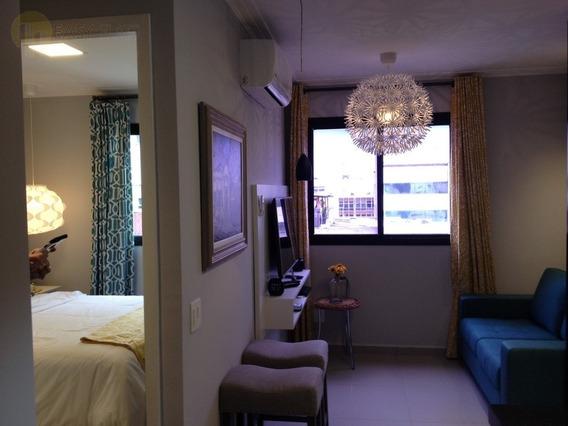 Flat Para Aluguel, 2 Dormitórios, Consolação - São Paulo - 1398