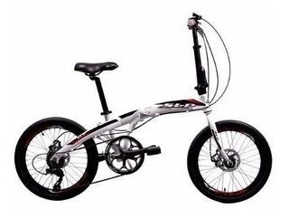 Bicicleta Plegable Slp Rodado 20 Frenos A Disco. Almagro