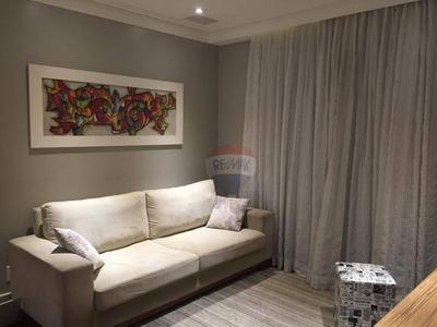 Apartamento Com 3 Dormitórios À Venda, 93 M² Por R$ 689.000,00 - Parque Mandaqui - São Paulo/sp - Ap0196