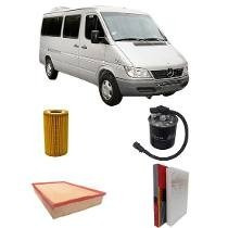 Kit Filtros Sprinter 311/415/515 Ano 2012 Até 2017