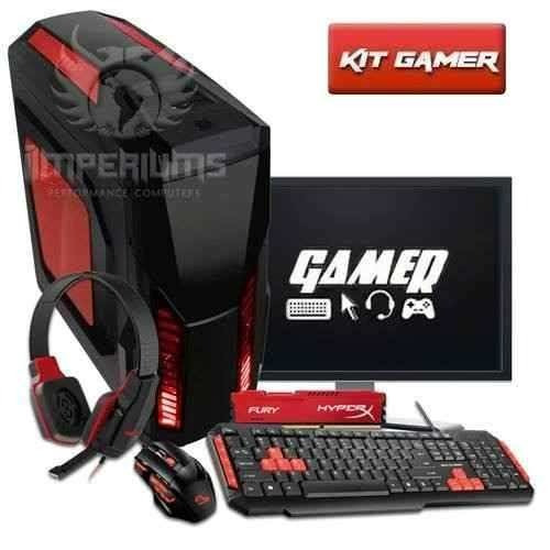Pc Completo Amd A4 4.0ghz, 8gb ,1tb, Kit Gamer