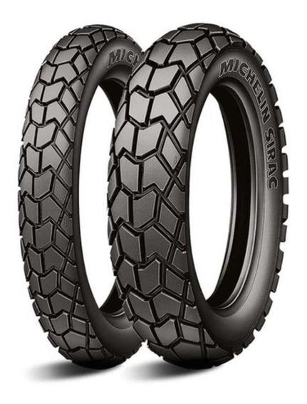 Par Pneu 275-18 90/90-18 Michelin Sirac Titan 150 Factor Yes