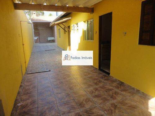 Casa Com 2 Dorms, Jardim Marina, Mongaguá - R$ 270 Mil, Cod: 48208 - V48208