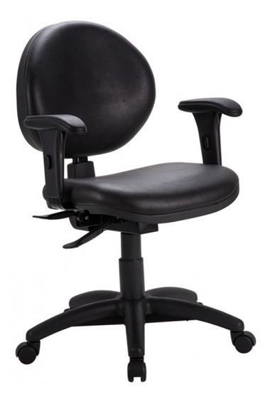 Cadeira De Escritório Giratória Secretária Preto - Cercatto