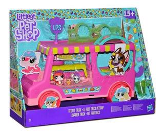 Lps Little Pet Shop Camión De Delicias +15 Accesoriosmascota