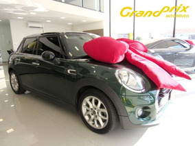 Mini Cooper 2016 1.5 Turbo Verde Completo Único Dono Top D