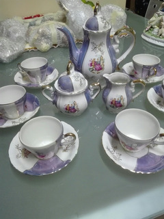 Juego De Te´ Porcelana Fina Japonesa Musical