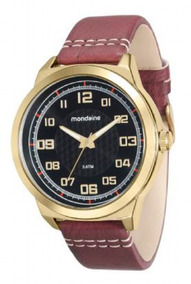 Relógio Mondaine Masculino 76601gpmvdh2 Couro De 320 Por 189