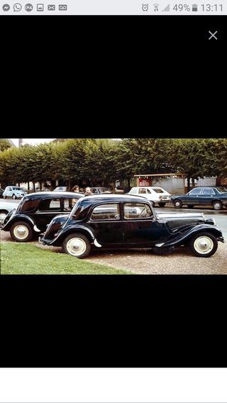 Citroën Traction Avant Peças