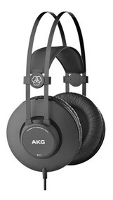 Headphone Fone De Ouvido Akg K52 Profissional Over Ear