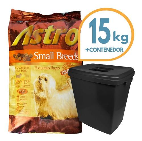 Imagen 1 de 2 de Astro Sb Perro Small Breed Raza Pequeña 15 Kg + Contenedor