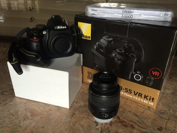 Abaixou!!!! Nikon D5000 Lente 18-55mm Vr