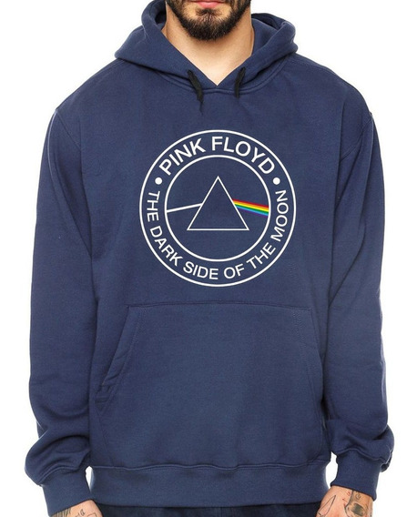 Blusa Moletom Casaco Pink Floyd The Dark Side Of The Moon