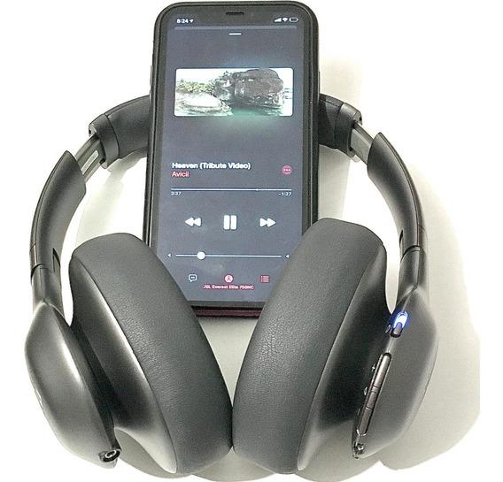 Fone Bluetooth Jbl Elite 750nc Sem Fio Cancelamento De Ruído
