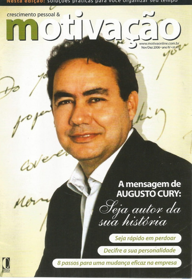 Revista Crescimento Pessoal & Motivação Ano 2006 - N.41