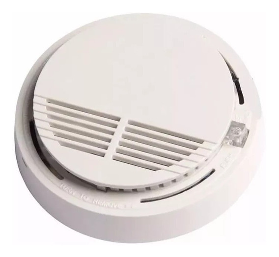 Alarma Sensor Detector De Humo Autónomo Caja Cerrada Led!!