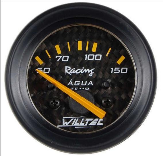Manometro Temperatura Água + Sensor Temperatura Willtec