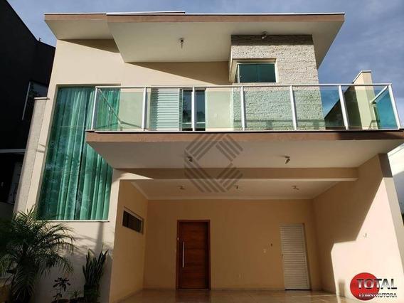Casa Com 3 Suítes À Venda, 200 M² Por R$ 720.000 - Condomínio Village Milano - Sorocaba/sp - Ca6668