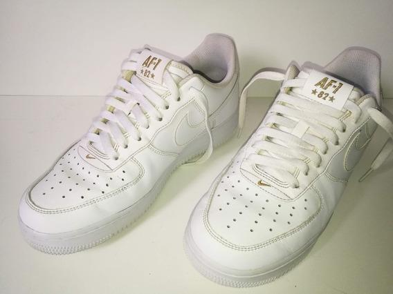 Zapatillas Nike Air Force 1 Como Nueva - Talle 42 Eur 8.5 Us