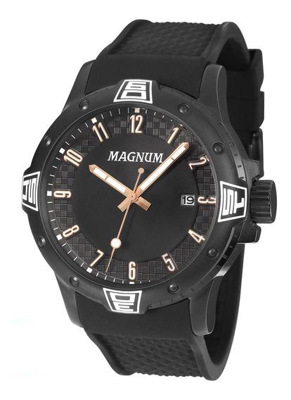 Relógio Magnum Masculino Preto Ma34414d