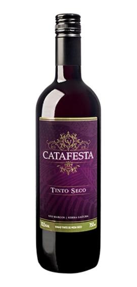 Vinho Tinto De Mesa Seco Tradicional Catafesta 750ml