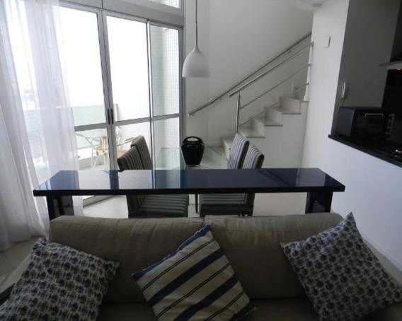 Apartamento Duplex Tipo Loft 1 Suíte No Mundo Plaza 80m2 No Caminho Das Árvores - Tpa014 - 33800591