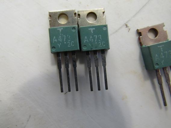 2 X Transistores A473 A 473 Originais Pnp Mitsubishi