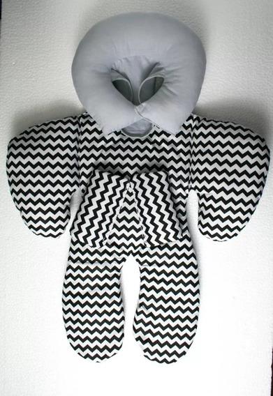Almofada Protetor Redutor De Bebê Conforto - Várias Cores