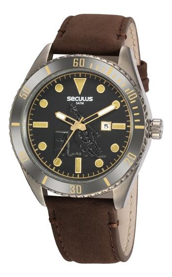 Relógio Masculino Seculus Country 20830gpsvsc2 Original + Nf