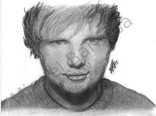 Retrato A Lápiz | Ed Sheeran | Grafito Mate