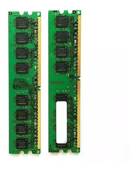 20un Memória Desktop 2gb Ddr2 800mhz Pc - C/ Garantia