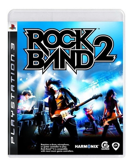 Usado Jogo Ps3 Rock Band 2 - Harmonix
