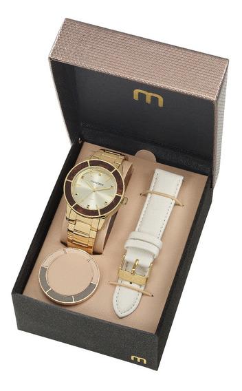 Relógio Mondaine Feminino 99265lpmvde6 Tr Catraca E Pulseira