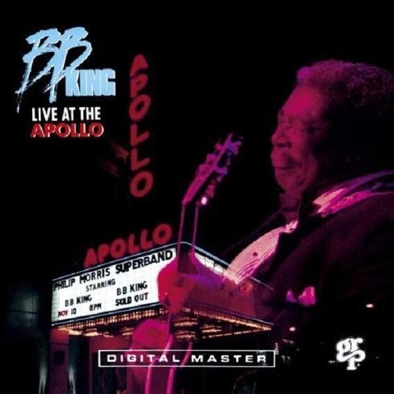 Bb King Live At The Apollo Cd Nuevo Importado En Stock