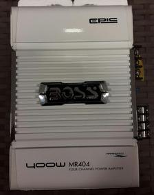 Amplificador 400w Boss Marine 4 Canais Mr404