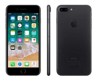 iPhone 7 Plus Preto Tela 5,5 4g 32 Gb Câmera 12 Mp Mnqm2bz/a