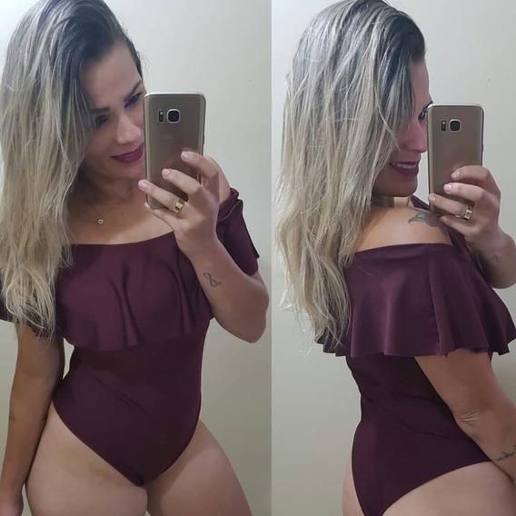 Body Ciganinha - Marsala