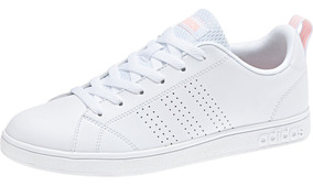 Tenis adidas Vs Advantage Unisex Db0581 Blanco/melon