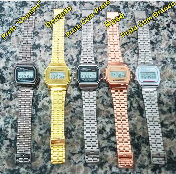 10 Relógios Retrô Vintage Clássico Unissex Atacado