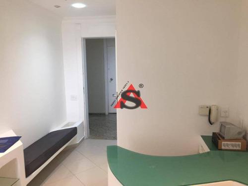 Conjunto Para Alugar, 57 M² Por R$ 4.000,00/mês - Jardim Paulistano - São Paulo/sp - Cj0608