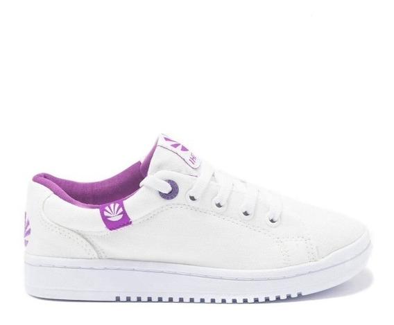 Zapatillas Kioshi Dido Classic Blanco Violeta