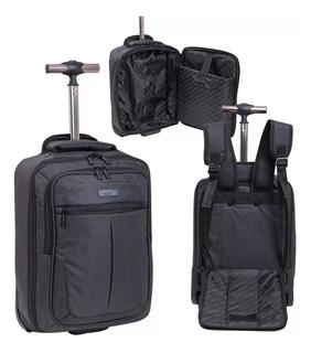 Maletin Valija Cabina Porta Notebook Premium Carro Ruedas