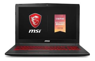 Notebook Msi Gv62 8rd-275 15.6 Gtx 1050ti-4gb Intel Core I5 Intel Core I5-8300h, 8gb, 256gb Nvme Ssd