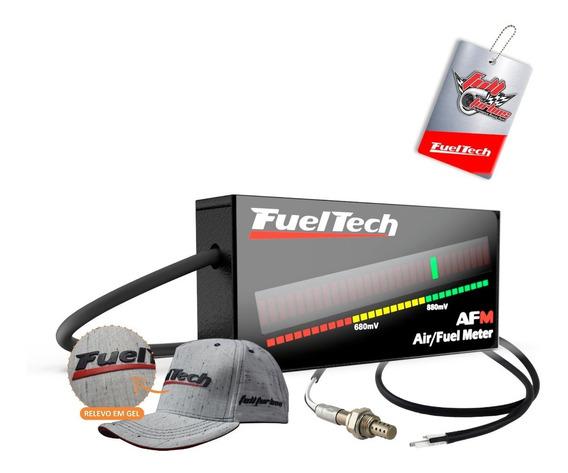 Hallmeter Fueltech Digital Air Fuel Meter + Sonda +boné Bran
