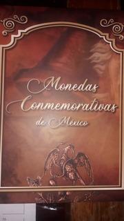 Album De Monedas De 5 Y 20 Pesos Bicentenario Lleno