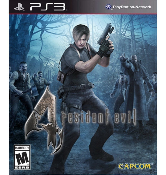 Resident Evil 4 Hd - Playsation 3 Jogos Ps3