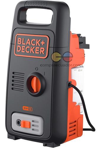 Black Decker Hidrolavadora 1200 W Presión 100bar 1450 Psi