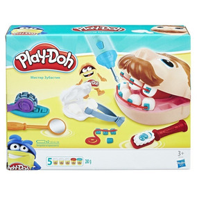 Play Doh Massinha Brincando De Dentista - Hasbro B5520